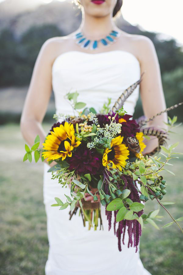 Guestbook Matrimonio Girasoli : Fiori per un matrimonio in autunno wedding wonderland