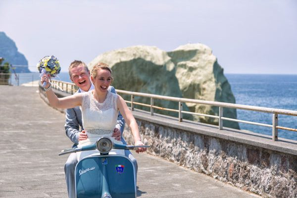 Un matrimonio handmade a Ischia