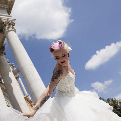 Un matrimonio rockabilly