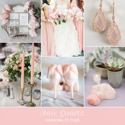 Inspiration board: Rose Quartz – Pantone primavera 2016