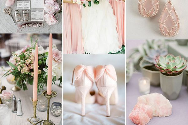 Inspiration board: Rose Quartz – Pantone primavera 2016