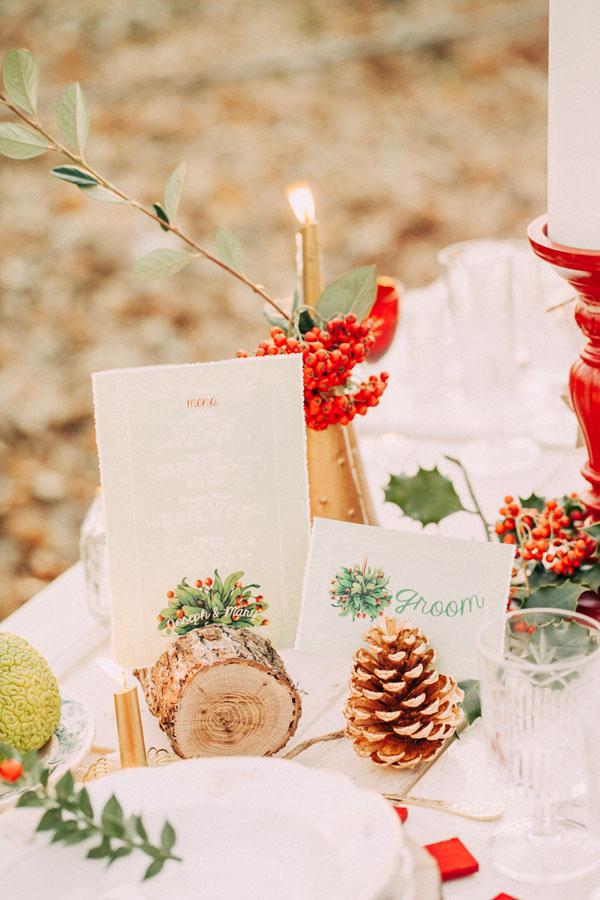Bomboniere Matrimonio Tema Natalizio : Idee per un matrimonio a natale wedding wonderland
