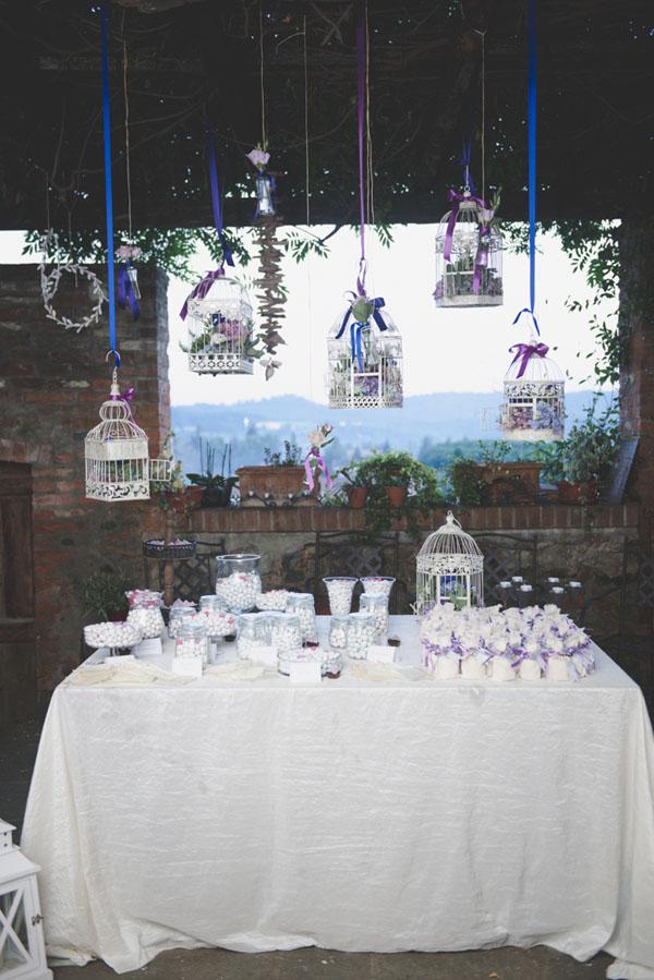 Matrimonio Azzurro E Blu : Azzurro e viola per un matrimonio country wedding wonderland