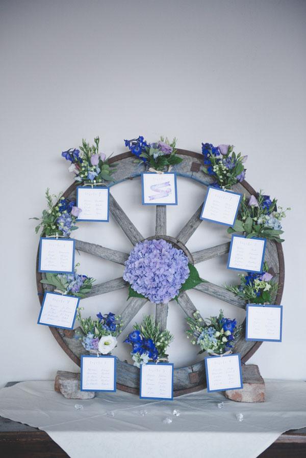 Matrimonio Viola E Azzurro : Azzurro e viola per un matrimonio country wedding wonderland
