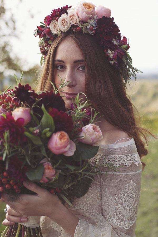 matrimonio bohemien autunnale in vigna-16