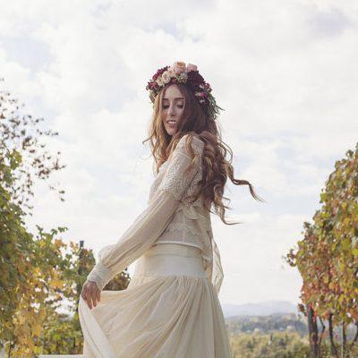 Inspiration: Un matrimonio bohémien in vigna