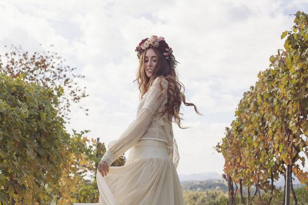 matrimonio bohemien autunnale in vigna-17