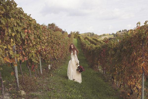 matrimonio bohemien autunnale in vigna-18