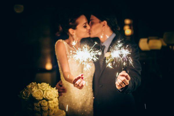Let Love Sparkle – Un matrimonio invernale ispirato alle feste