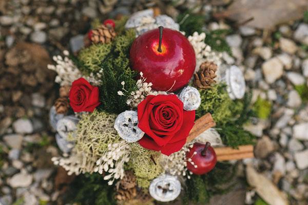 matrimonio natalizio ispirato a biancaneve-09
