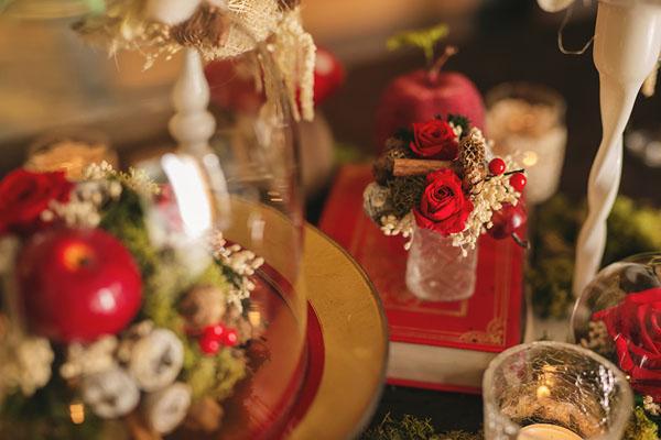 matrimonio natalizio ispirato a biancaneve-17