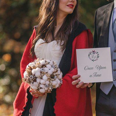 Inspiration: Un matrimonio natalizio ispirato a Biancaneve