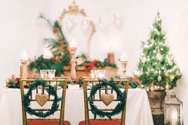 Matrimonio Natalizio Abito : Inspiration un matrimonio rustico e natalizio wedding