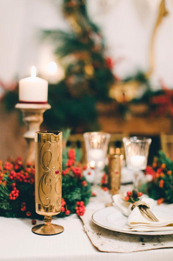 Matrimonio Periodo Natalizio : Inspiration un matrimonio rustico e natalizio wedding