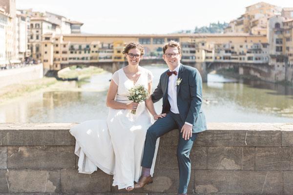 Un matrimonio intimo a Firenze