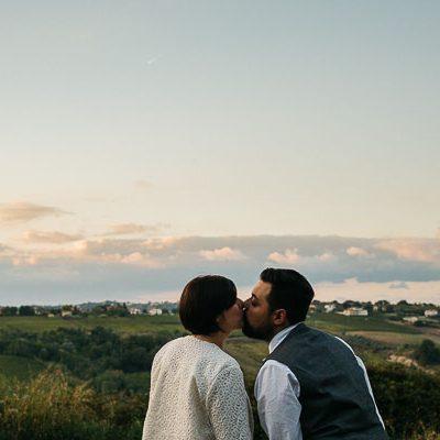 Un matrimonio rustico e fai da te
