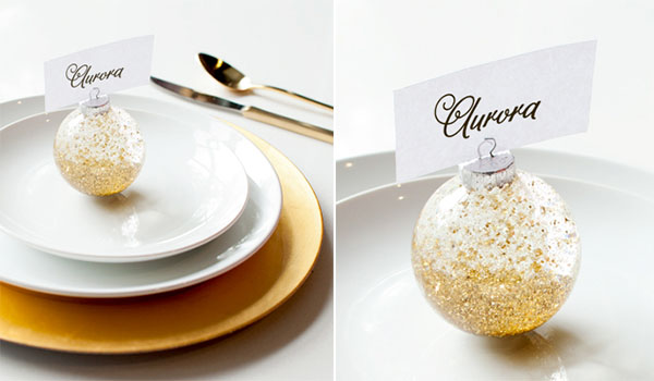 Segnaposto Per Matrimonio Natalizio : 10 decorazioni fai da te per natale wedding wonderland