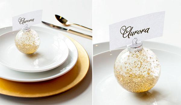 Segnaposti Matrimonio Natalizio : Decorazioni fai da te per natale wedding wonderland