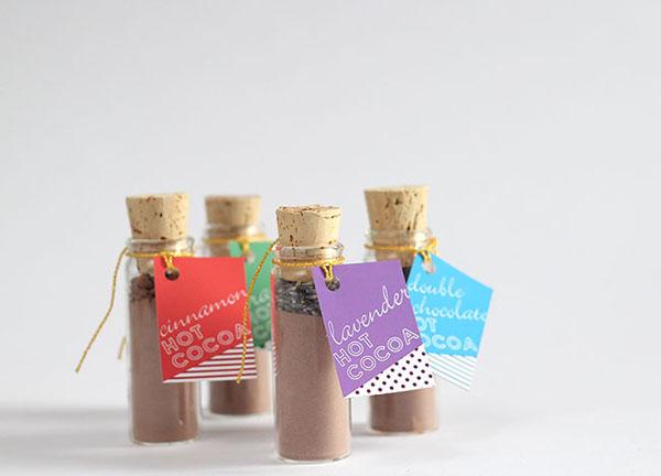 bomboniere cioccolata calda