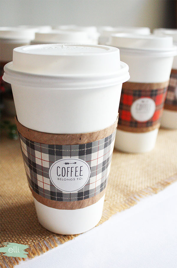 coffe sleeve fai da te