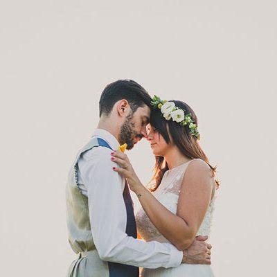 Erbe aromatiche per un matrimonio all'aperto