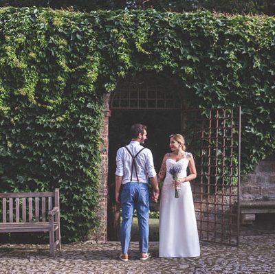 Lavanda e margherite per un matrimonio rustico