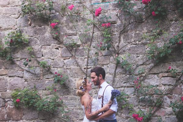 matrimonio rustico con lavanda e fiori di campo-22