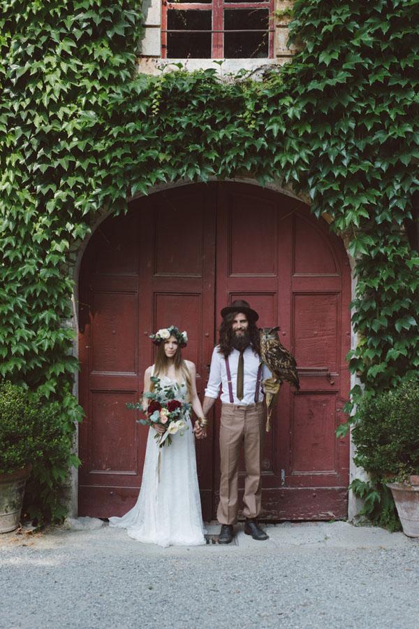 matrimonio vintage bohemien marsala-01