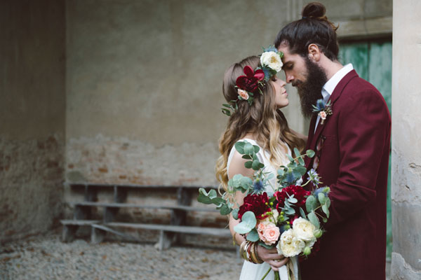 matrimonio vintage bohemien marsala-08