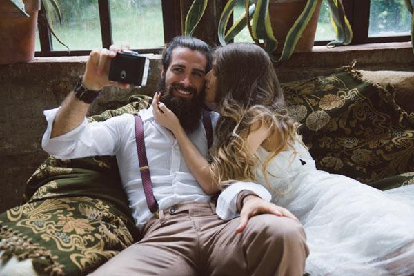 matrimonio vintage bohemien marsala-12
