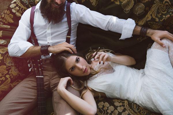 matrimonio vintage bohemien marsala-13