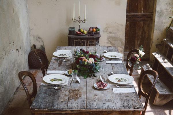 matrimonio vintage bohemien marsala-14