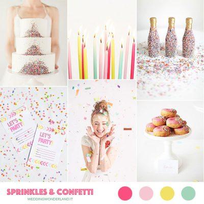 Inspiration board: Buon compleanno, Wedding Wonderland