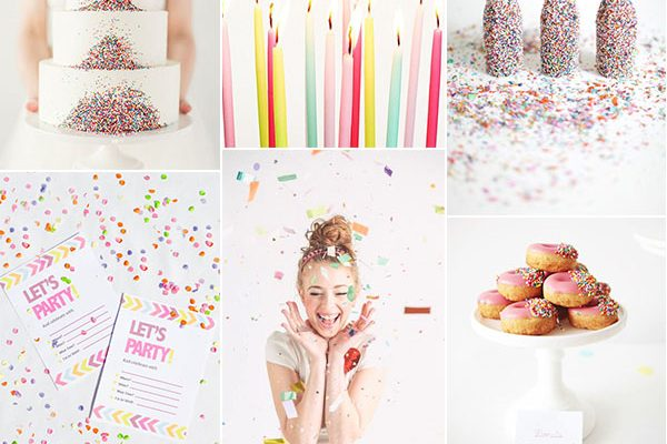 Inspiration board: Buon compleanno, Wedding Wonderland