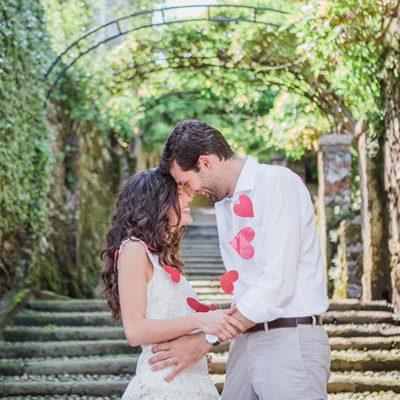 Una romantica engagement session sul Lago Maggiore