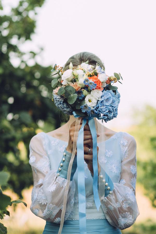 Matrimonio In Azzurro : Un abito vintage per matrimonio azzurro wedding