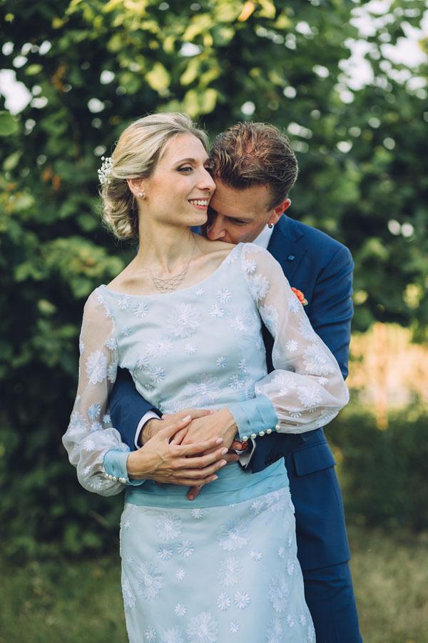 Trucco Matrimonio Abito Azzurro : Un abito vintage per matrimonio azzurro wedding
