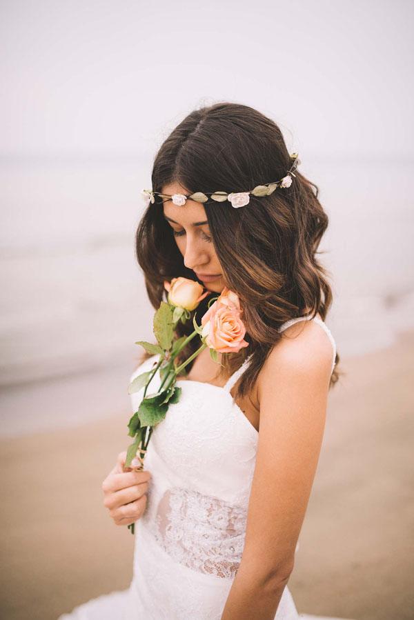 Matrimonio Bohemien Rhapsody : Inspiration un matrimonio bohémien tra spiaggia e pineta