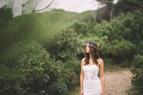 Inspiration: Un matrimonio bohémien tra spiaggia e pineta