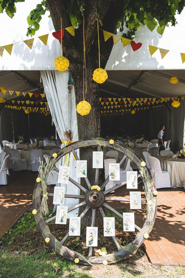 matrimonio country chic in giallo-09