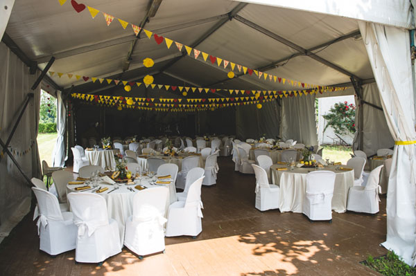 matrimonio country chic in giallo-10