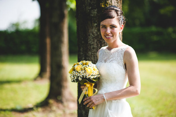 matrimonio country chic in giallo-23