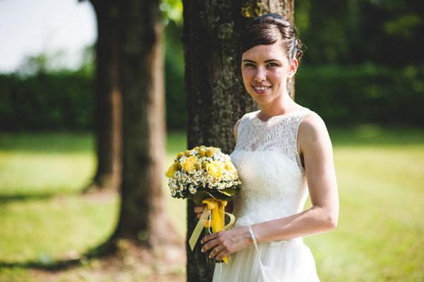 matrimonio country chic in giallo-23