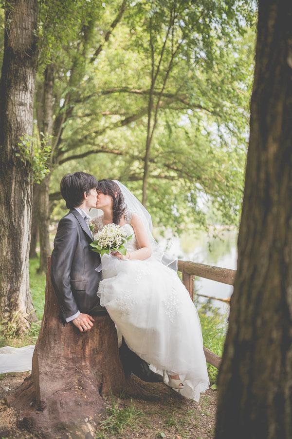 matrimonio handmade bianco e verde-14