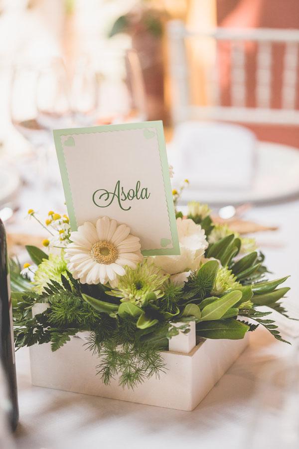 matrimonio handmade bianco e verde-23
