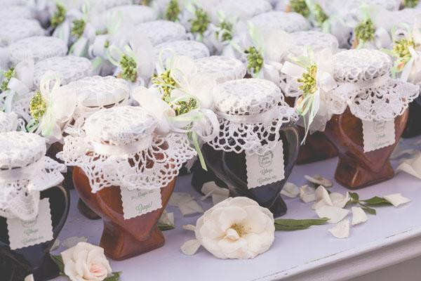 matrimonio handmade bianco e verde-27