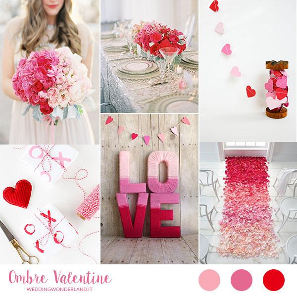 Matrimonio Tema Chiave Del Cuore : Inspiration board san valentino ombré wedding wonderland