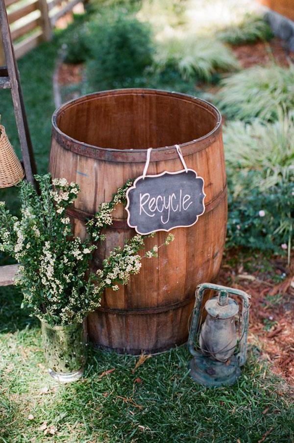 25 idee per un matrimonio ispirato al vino wedding for Botte di legno arredamento