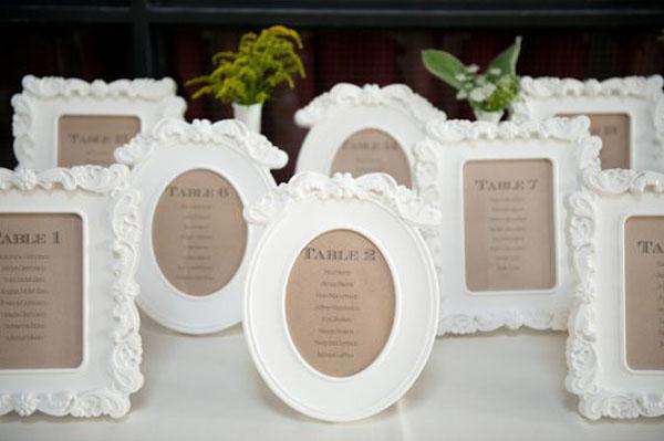 20 decorazioni ikea per il vostro matrimonio for Cornici foto bianche