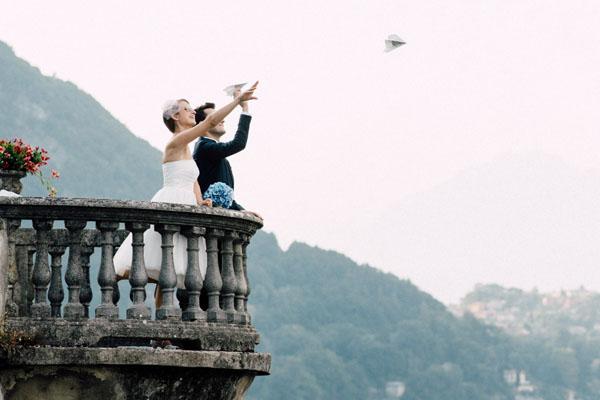 Un matrimonio ispirato ai viaggi sul Lago di Como
